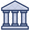 Bank Depository House Financial Institution Icon