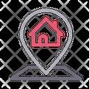 Bank House Home Icon