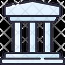 Bank Finanace Building Icon
