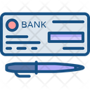 Bank Banking Check Icon