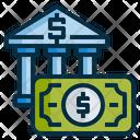 Deposits Bank Money Icon