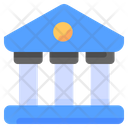 Bank Business Money Icon