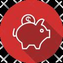 Bank Piggy Money Icon