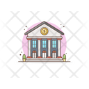 Bank Finance Financial Institution Icon