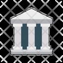 Bank Saving Court Icon