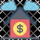 Bank Saving Home Icon