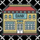 Bank Credit Color Icon