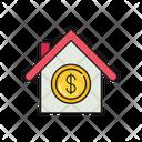 House Dollar Saving Icon