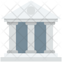Bank Building Architect Icon