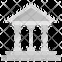 Bank Finance Capital Icon