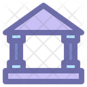 Bank Finance Currency Icon