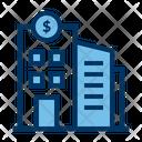 Bank Wallstreet Institution Icon