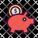 Bank Money Dollar Icon