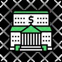 Bank Financial Building Icon