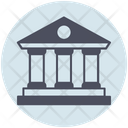 Business Bank Courthouse Icon