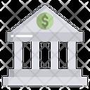 Artboard Bank Building Icon