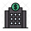 Bank Office Building Icon