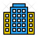 Bank Building Office Icon