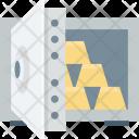 Bank Locker Gold Icon