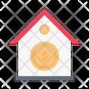 Banking House Dollar Icon