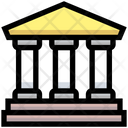 Bank Building Goverment Icon