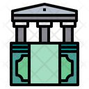 Money Bank Business Icon