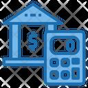 Bank Calculator Tools Account Icon