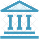 Building Management Bank Icon