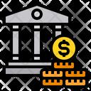 Bank Banking Finance Icon