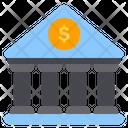 Bank Banking Financial Icon