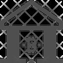Bank Bitcoin Bank Cryptocurrency Bank Icon
