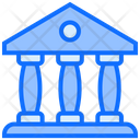 Bank Pantheon Office Icon