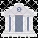 Bank Finance Building Savings Icon