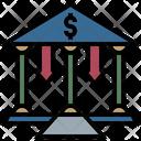 Bank Money Loss Icon