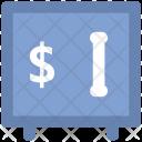 Bank Safe Dollar Icon