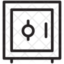 Bank Vault Safe Icon