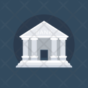 Bank Building Real Icon