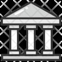 Bank Architect Court Icon