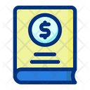 Bank Book Money Book Investment Book Icon