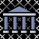 Bank Money Building Icon