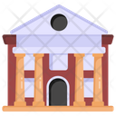 Depository House Bank Bank Building Icon