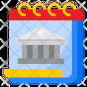 Bank Calendar Icon