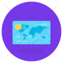 Credit Card Bank Card Atm Card Icon