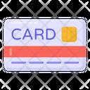 Credit Card Bank Card Smart Card Icon