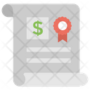 Bank Certification Icon