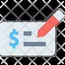 Bank Cheque Icon