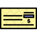 Bank Cheque Cheque Payment Cheque Icon