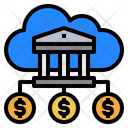 Bank Cloud Money Icon