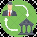 Bank Connectivity Service Icon