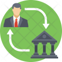 Bank Connectivity Services Icon